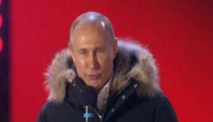 [VIDEO] Putin es reelecto por cuarta vez