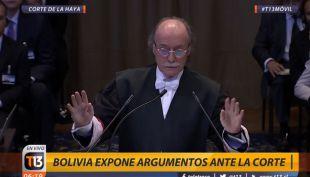 [VIDEO] Tenemos un problema con su micrófono: El desperfecto técnico en los alegatos en La Haya