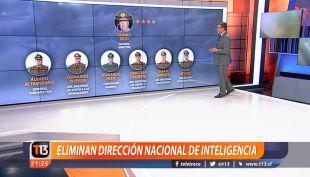 [VIDEO] Carabineros elimina la dirección de inteligencia