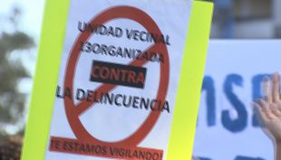 [VIDEO] Peñalolén protesta contra la delincuencia