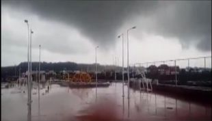 [VIDEO] Mini tornado deja serios daños en Puerto Montt