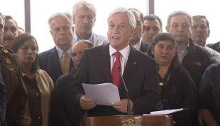 [VIDEO] Piñera anuncia cambios a la Ley Antiterrorista