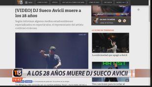 [VIDEO] #TendenciasT13: hablamos del DJ Avicii, la muerte que enluta al mundo de la música