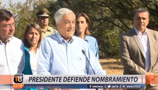 [VIDEO] Presidente Piñera niega nepotismo con su hermano