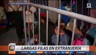 [VIDEO] Largas filas de inmigrantes marcan segundo día de regularización
