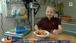 [VIDEO] Niño recibe penta trasplante en Inglaterra