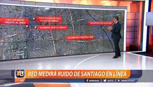 [VIDEO] Ruido en Santiago: Instalarán red de medición continua en cinco puntos