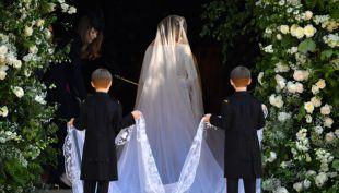 [VIDEO] Hasta las lágrimas: así fue el ingreso de Meghan Markle a la capilla Saint George