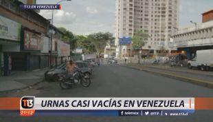 [VIDEO] Alta abstención marca elecciones presidenciales en Venezuela