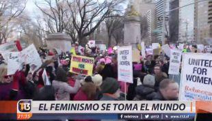 [VIDEO] El feminismo se toma del mundo