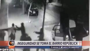 [VIDEO] Inseguridad se toma el barrio República