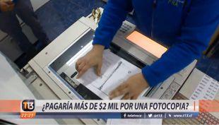 [VIDEO] ¿Pagaría más de 2 mil pesos por una fotocopia?