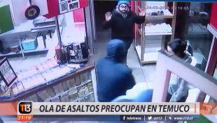 [VIDEO] Ola de asaltos preocupan en Temuco