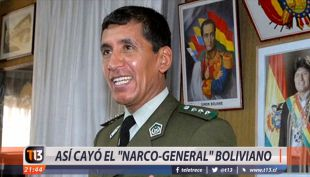 [VIDEO] Así cayó el narco-general boliviano
