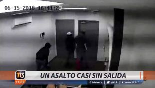 [VIDEO] Un asalto casi sin salida
