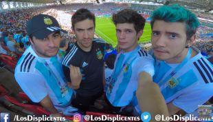 [VIDEO] No lo podían creer: Los Displicentes sufrieron con el empate de Argentina e Islandia