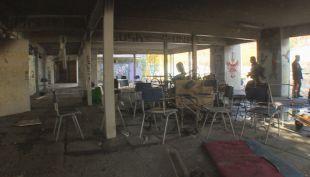 [VIDEO] Los daños que llevaron a cerrar el Liceo Amunátegui