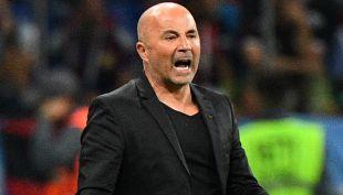 [VIDEO] La tensa reacción de Jorge Sampaoli luego del gol croata