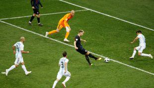 [VIDEO] Ivan Rakitic sentenció la goleada de Croacia sobre Argentina