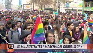 [VIDEO] Marcha del orgullo que pretende visibilizar las demandas de LGTBI