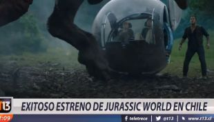 [VIDEO] Jurassic World lidera la taquilla en Chile