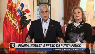 [VIDEO] Piñera indulta a preso de Punta Peuco