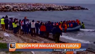 [VIDEO] Tensión por inmigrantes en Europa
