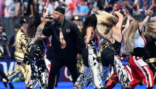 [VIDEO] Así fue la presentación de Nicky Jam en la final del Mundial de Rusia 2018