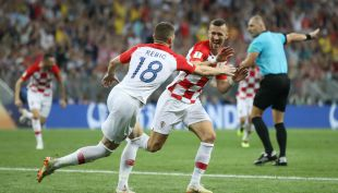[VIDEO] El golazo de Perisic que le dio la igualdad a Croacia en la final