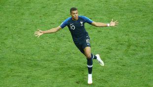 [VIDEO] Es goleada: Mbappé puso el cuarto para los franceses en la final