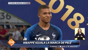 [VIDEO] Mbappé igual la marca de Pelé