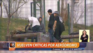 [VIDEO] Vuelven críticas por aeródromo