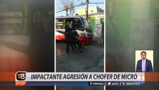 [VIDEO] Brutal agresión a chofer de micro en Quilpué