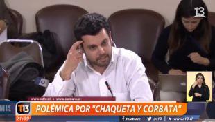 [VIDEO] La polémica en la Cámara de Diputados por abogado que no usó chaqueta y corbata en Comisión