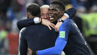 [VIDEO] Deschamps y Pogba: Así fueron las arengas de Francia camino a la Copa