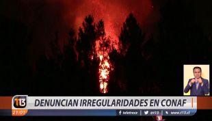 [VIDEO] Denuncian irregularidades en Conaf