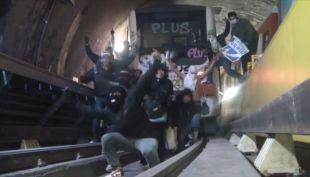 [VIDEO] Metro suma 20 ataques por rayados en el año