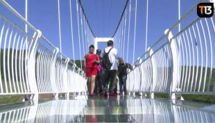 El puente de vidrio sólo para valientes que ha estrenado China