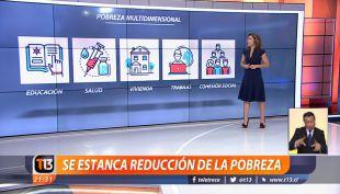 [VIDEO] Encuesta Casen: Se estanca la reducción de la pobreza