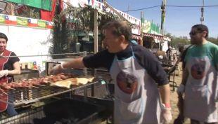 [VIDEO] Clima favoreció a fondas en segundo día de fiestas