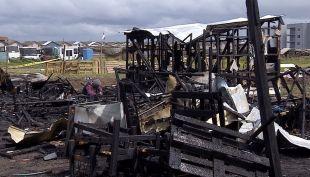 [VIDEO] Dos niñas mueren en voraz incendio