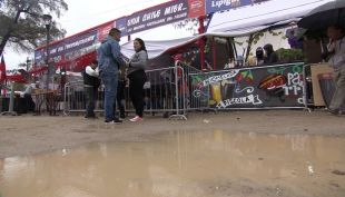 [VIDEO] Fondas afectadas por la lluvia