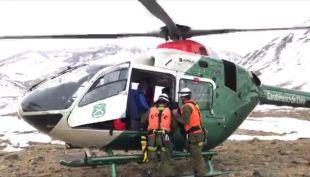 [VIDEO] 63 personas aisladas por la nieve