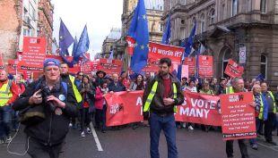 [VIDEO] Exigen nuevo referéndum por Brexit