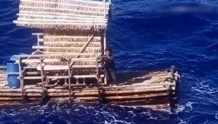 [VIDEO] Joven sobrevivió 48 días en medio del mar