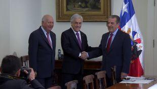 [VIDEO] La Haya: Piñera se reúne con ex mandatarios y Bolivia habla de derrota chilena