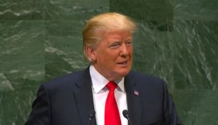 [VIDEO] Trump saca risas en discurso de la ONU