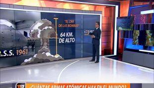 [VIDEO] ¿Cuántas armas atómicas hay en el mundo?