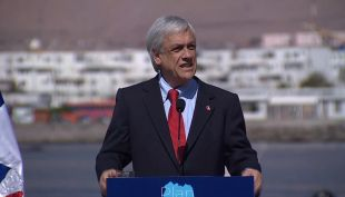 [VIDEO] La accidentada gira del Presidente Piñera al norte