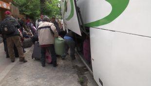 [VIDEO] El retorno de chilenos desde Venezuela